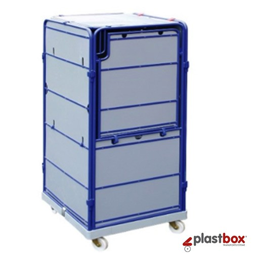 Rollbox kunststoff  Logistic rollbox with plastic base | Logistic rollbox | Rollcages ...