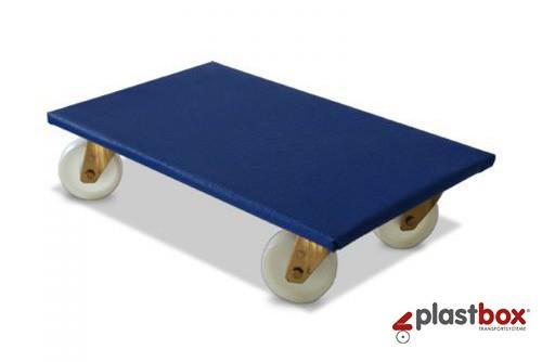 Möbelroller 600 x 350 mm, PP-Rollen